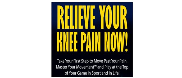 FREE Special Report: Relieve Your Knee Pain Now
