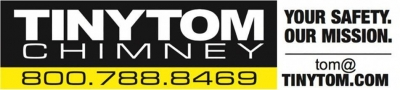 Tiny Tom Chimney Sweep and Repair Services Toledo Ohio Your Safety is our Mission