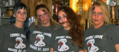 Manhattan's Pub and Cheer Uptown Toledo Zombie Crawl